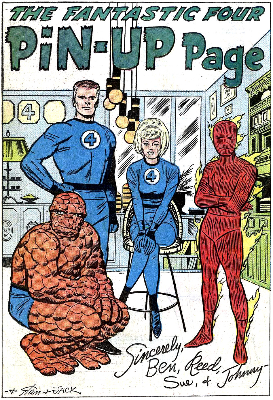 Fantastic-Four-Pin-Up