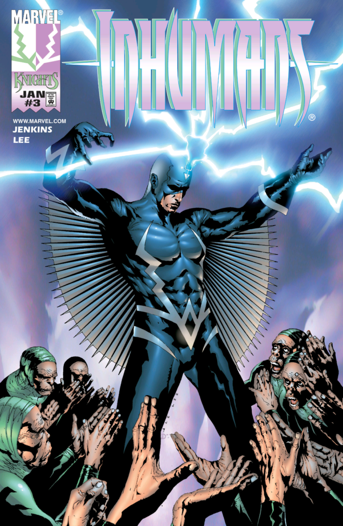 Inhumans 3 Cover