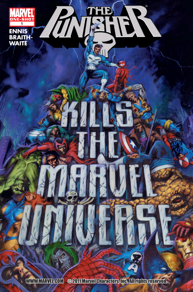 Punisher Kills Cover