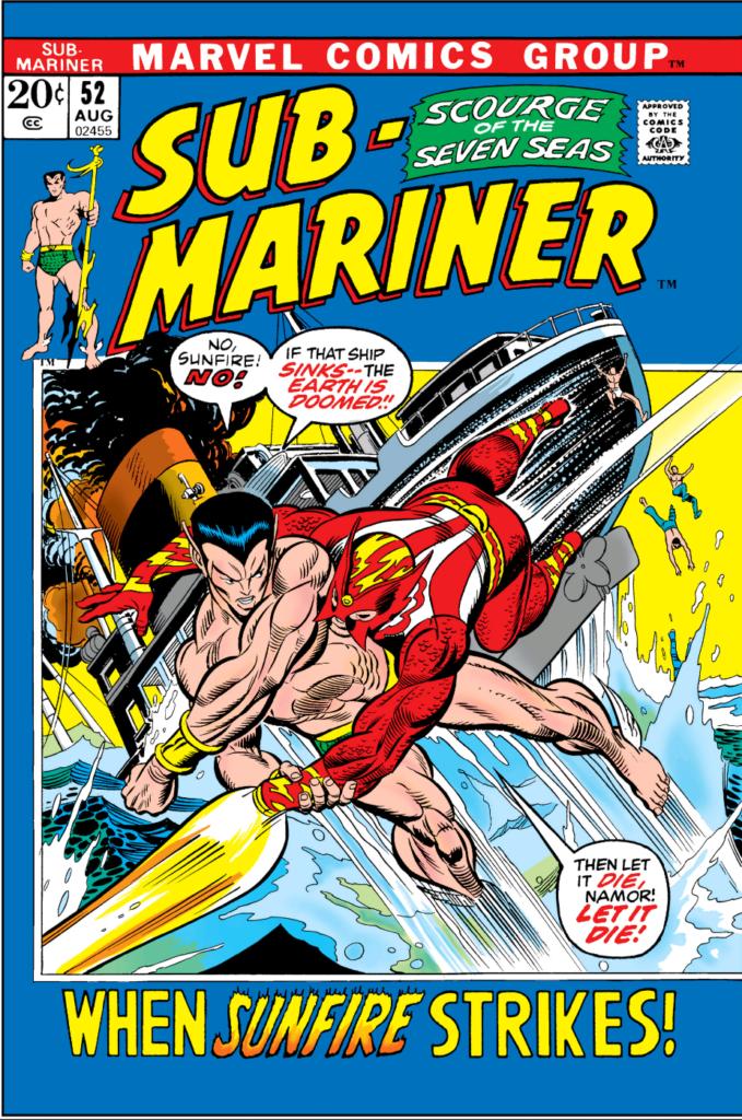 Sub-Mariner 52 Cover
