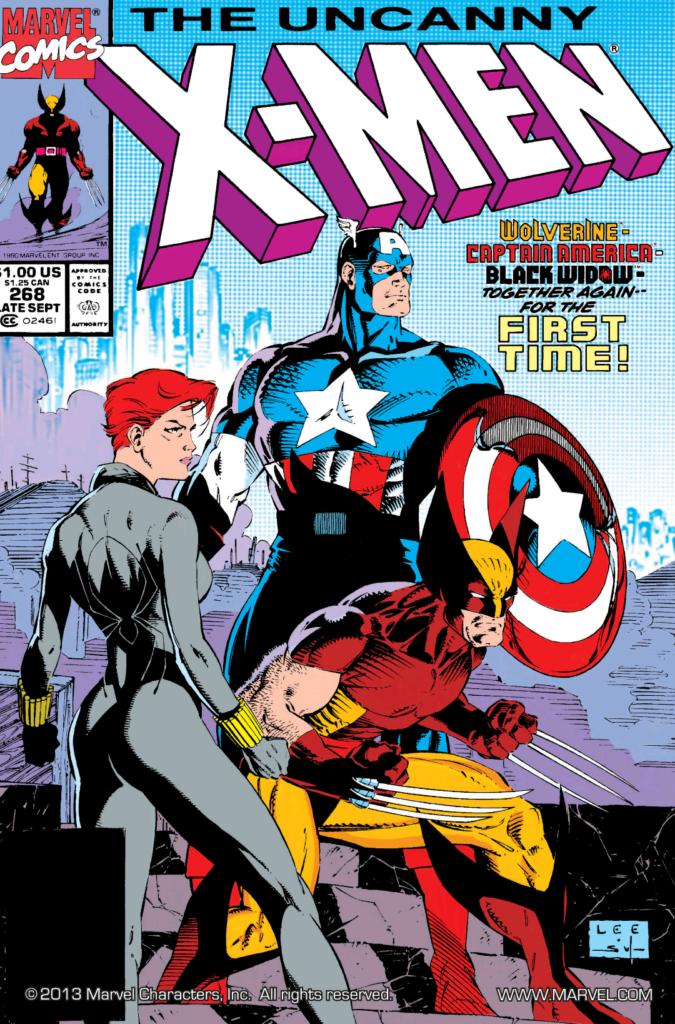 Uncanny X-Men 268 Cover