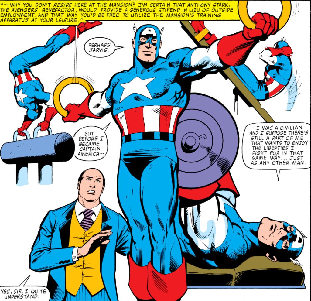 Captain America 259 1