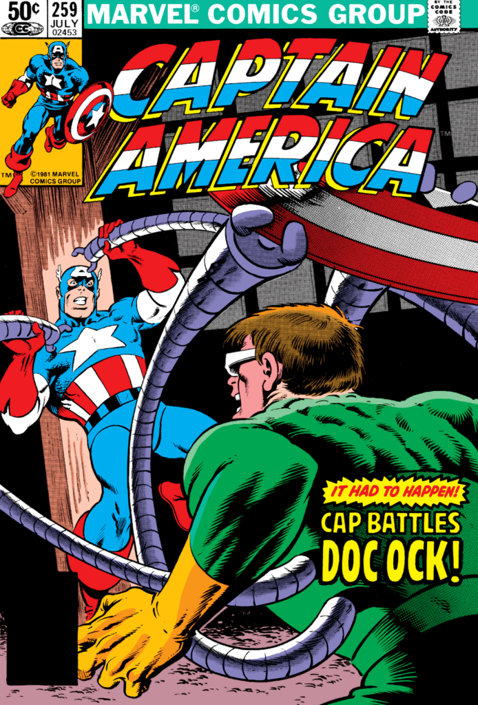 Captain America 259 Cover